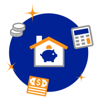 Mortgage Prepayment Savings Calculator Icon